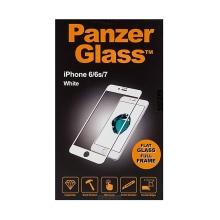 Tvrzené sklo (Tempered Glass) PANZERGLASS pro Apple iPhone 6 / 6S / 7 / 8 - na přední část část - 2,5D hrana - bílé - 0,4mm