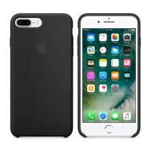 Originální kryt pro Apple iPhone 7 Plus / 8 Plus - silikonový - černý
