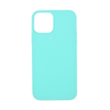 Kryt pro Apple iPhone 12 / 12 Pro - gumový - světle modrý