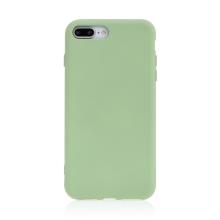 Kryt pro Apple iPhone 7 Plus / 8 Plus - příjemný na dotek - silikonový - zelený