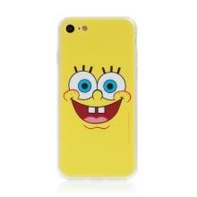 Kryt Sponge Bob pro Apple iPhone 7 / 8 / SE (2020) - gumový - vysmátý Sponge Bob