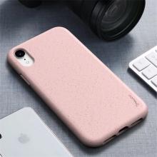 Kryt IPAKY pro Apple iPhone Xr - gumový - růžový