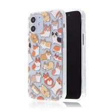Kryt pro Apple iPhone 12 mini - gumový - smečka corgiů