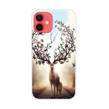 Kryt pro iPhone 12 / 12 Pro - gumový - snový jelen