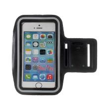 Sportovní pouzdro pro Apple iPhone včetně velikostí Plus a Max - černé