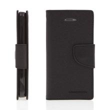Ochranné pouzdro pro Apple iPhone 5C Mercury Goospery s prostorem pro umístění platebních karet - černé