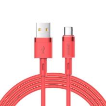 Synchronizační a nabíjecí kabel JOYROOM USB-C - USB 3.0 - 1,2m - červený