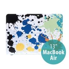 Obal / kryt pro MacBook Air 13 (A1369,A1466) - plastový - barevné kaňky