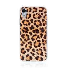 Kryt BABACO pro Apple iPhone Xr - gumový - leopardí vzor