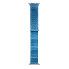 Řemínek TACTICAL pro Apple Watch 44mm Series 4 / 5 / 6 / SE / 42mm 1 / 2 / 3 - nylonový - modrý