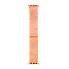 Řemínek TACTICAL pro Apple Watch 44mm Series 4 / 5 / 6 / SE / 42mm 1 / 2 / 3 - nylonový - oranžový