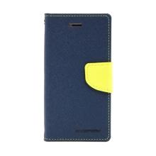 Pouzdro Mercury Fancy Diary pro Apple iPhone 7 / 8 - stojánek a prostor na doklady - modré