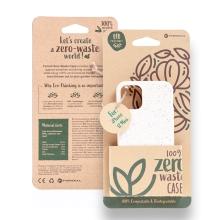 Kryt FORCELL BIO - pro Apple iPhone 12 mini - Zero Waste kompostovatelný kryt - přírodní