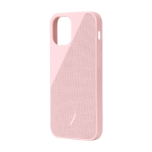 Kryt NATIVE UNION Clic Canvas pro iPhone 12 mini - růžový