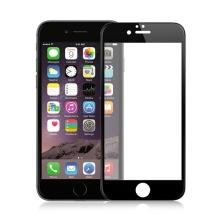 Tvrzené sklo / Tempered Glass AMORUS pro Apple iPhone 6 / 6S - černý rámeček - 0,26mm