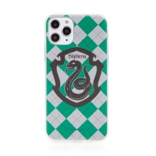 Kryt Harry Potter pro Apple iPhone 11 Pro Max - gumový - emblém Zmijozelu
