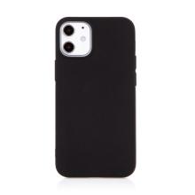 Kryt pro Apple iPhone 12 mini - gumový - černý