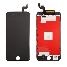 LCD panel + dotykové sklo (touch screen digitizér) pro Apple iPhone 6S - černý - kvalita A+