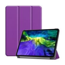 """Pouzdro pro Apple iPad Pro 11"""" (2018) / 11"""" (2020) - stojánek + funkce chytrého uspání - fialové"""