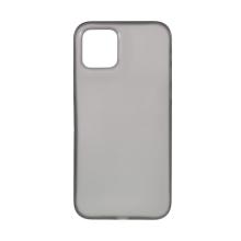 Kryt pro Apple iPhone 12 / 12 Pro - ultratenký - plastový - šedý