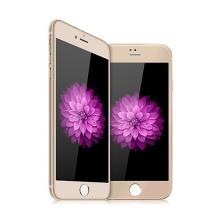 Tvrzené sklo DEVIA (Tempered Glass) pro Apple iPhone 6 Plus / 6S Plus - zlatý rámeček + zadní fólie - 0,26mm