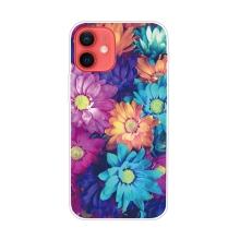 Kryt pro iPhone 12 / 12 Pro - gumový - květiny