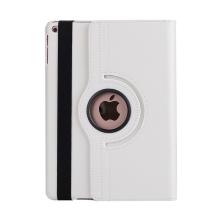 Pouzdro pro Apple iPad Air 1 / Air 2 / 9,7 (2017-2018) - 360° otočný stojánek - bílé