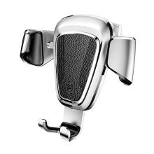 Držák do auta BASEUS Gravity - automatické uchycení - do ventilační mřížky - stříbrný