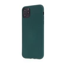 Kryt pro Apple iPhone 11 Pro Max - příjemný na dotek - silikonový - lesně zelený