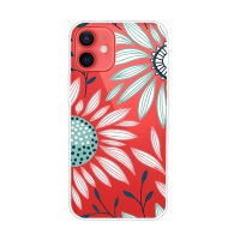 Kryt pro Apple iPhone 13 - gumový - barevná slunečnice