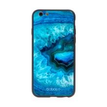 Kryt BABACO pro Apple iPhone 6 / 6S - skleněný - Akvamarín