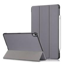 Pouzdro / kryt pro Apple iPad Air 4 (2020) - funkce chytrého uspání - umělá kůže - šedé