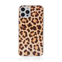Kryt BABACO pro Apple iPhone 12 Pro Max - gumový - leopardí vzor