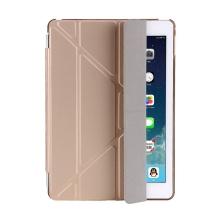 Pouzdro / kryt pro Apple iPad 9,7 (2017-2018) - odnímatelný Smart Cover - stojánek - plastové - zlaté