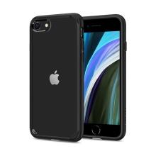 Kryt SPIGEN Ultra Hybrid pro Apple iPhone 7 / 8 / SE (2020) - plastový / gumový - černý / průhledný