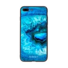 Kryt BABACO pro Apple iPhone 7 Plus / 8 Plus - skleněný - Akvamarín