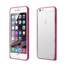 Tenký hliníkový rámeček / bumper LOVE MEI pro Apple iPhone 6 - růžový