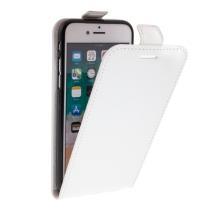 Pouzdro pro Apple iPhone 7 / 8 - vyklápěcí - kožené bílé