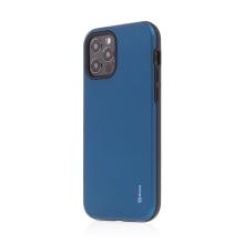 Kryt ROAR Rico pro Apple iPhone 12 / 12 Pro - odolný - plastový / gumový - modrý