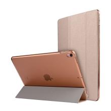 """Pouzdro / kryt pro Apple iPad Pro 10,5"""" / Air 3 (2019) - funkce chytrého uspání + stojánek elegantní textura - zlaté"""