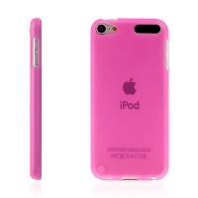 Kryt pro Apple iPod touch 5. / 6. / 7. gen. gumový růžový
