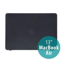 Tenký ochranný plastový obal pro Apple MacBook Air 13.3 - matný - černý