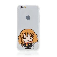 Kryt Harry Potter pro Apple iPhone 6 / 6S - gumový - Hermiona - průhledný