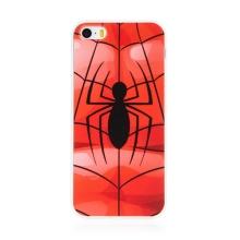 Kryt MARVEL pro Apple iPhone 5 / 5S / SE - gumový - pavouk