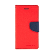 Pouzdro Mercury Fancy Diary pro Apple iPhone 7 / 8 - stojánek a prostor na doklady - červené