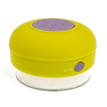 Reproduktor Bluetooth - voděodolný - silikonový - žlutý