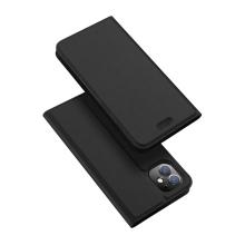 Pouzdro DUX DUCIS pro Apple iPhone 11 - stojánek + prostor pro platební kartu - černé