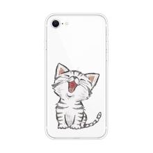 Kryt pro Apple iPhone 7 / 8 / SE (2020) - gumový - ospalé kotě