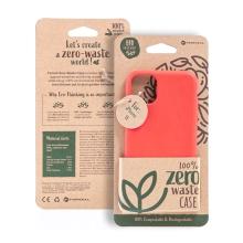 Kryt FORCELL BIO - pro Apple iPhone 11 - Zero Waste kompostovatelný kryt - červený