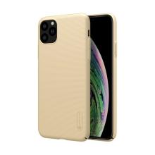 Kryt NILLKIN Super Frosted pro Apple iPhone 11 Pro Max - plastový - zlatý